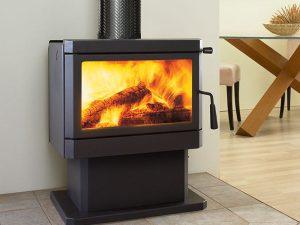 cardinia-wood fireplace