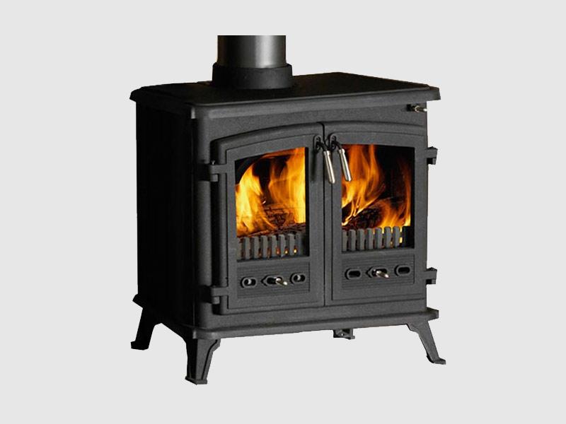 Masport Westcott 3000 Cast Iron Freestanding Wood Fireplace Masters