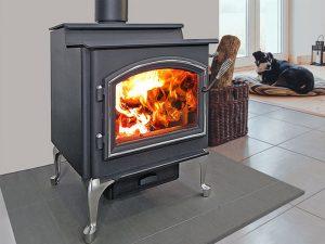 Quadra-fire-5700-Step-top fireplace
