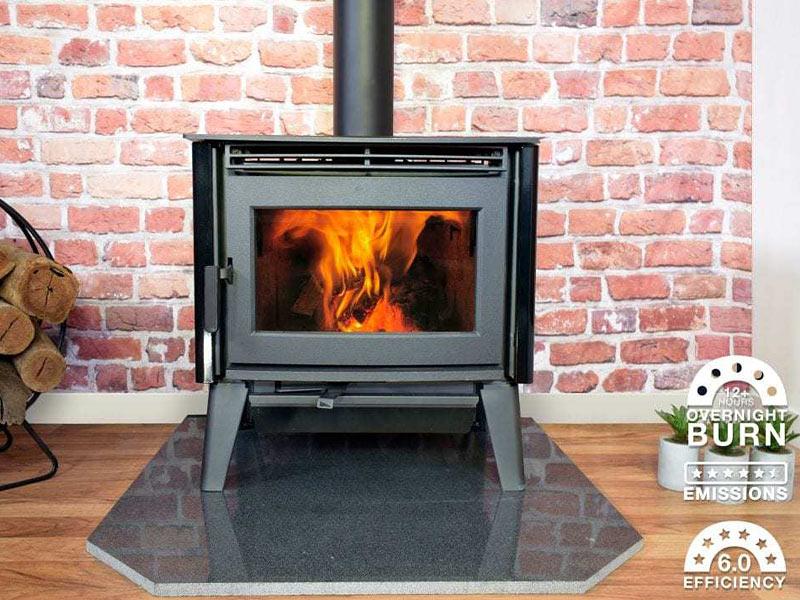 Pacific Energy Alberni freestanding fireplace
