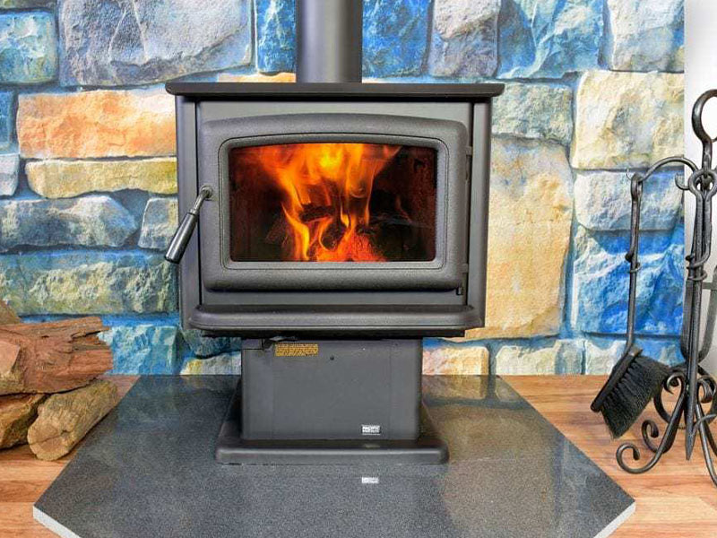 Pacific Energy Super freestanding fireplace