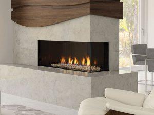 Chichgo- corner-40RE gas fireplace